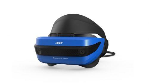 896688aba VR Okuliare Acer Windows Mixed Reality Headset + pohybové ovládače za 459 €  @ alza.